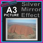AYERS ROCK ULURA ALUMINIUM PRINTED PICTURE SPECIAL EFFECT PRINT NOT CANVAS